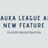 Chauka league app new feature: Player Registration