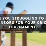 How to Attract Sponsors to Organise a Cricket Tournament